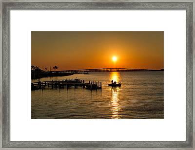 Framed Print featuring the photograph The Early Bird by Tim Stanley