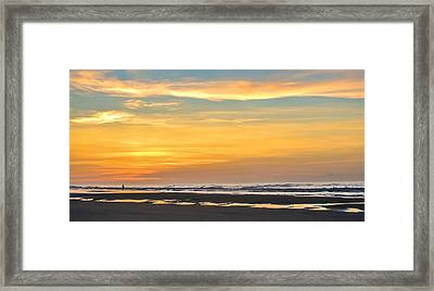 The Early Bird Uses The Worm. Framed Print by Jason Heckman