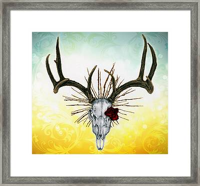 The Earth Is My Witness Framed Print by Penny Collins