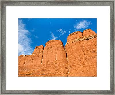 The Earth Is Rising Framed Print