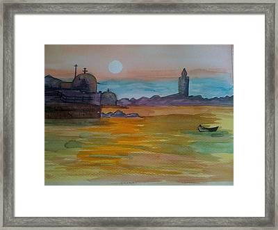 The East Framed Print
