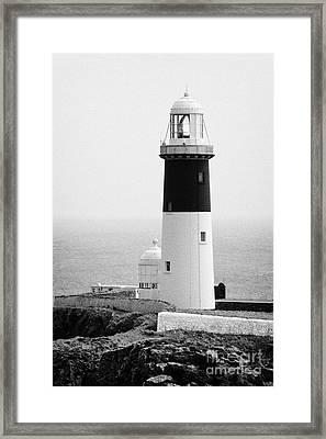 The East Light Lighthouse Altacarry Altacorry Head Rathlin Island Ireland  Framed Print by Joe Fox