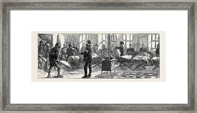 The Eastern Question At Nisch We Shall Live To Fight Framed Print