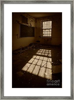 The Echo Of Emptiness Framed Print