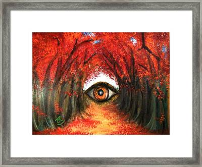 The Echo Framed Print