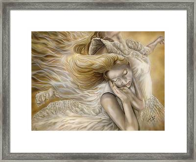 The Ecstasy Of Angels Framed Print