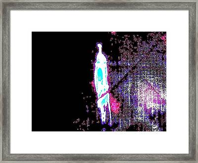 The Edge Framed Print by Bruce Combs - REACH BEYOND