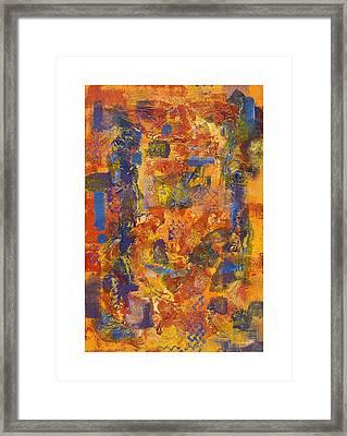 The Edge Framed Print by Craig Tinder