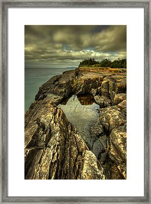 The Edge Framed Print by Jakub Sisak