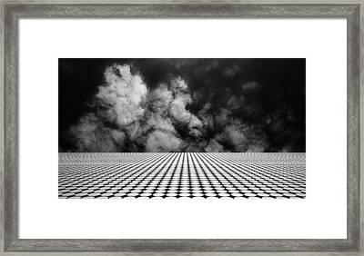 The Edge Framed Print by Mihai Florea