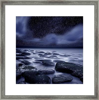 The Edge Of Forever Framed Print