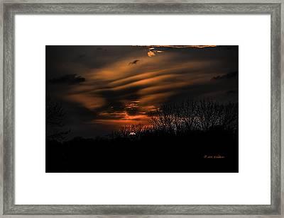 The Edge Of Night Framed Print