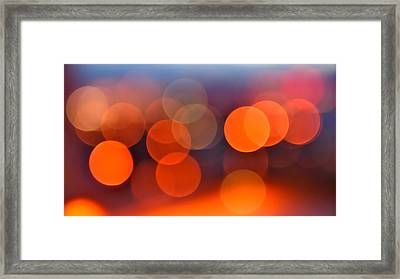 The Edge Of Night Framed Print