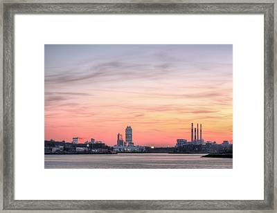 The Edge Of Queens Framed Print by JC Findley