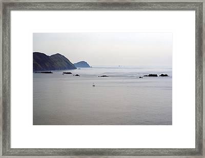 The Edge Of The World Ireland Framed Print by Glenn Cuddihy