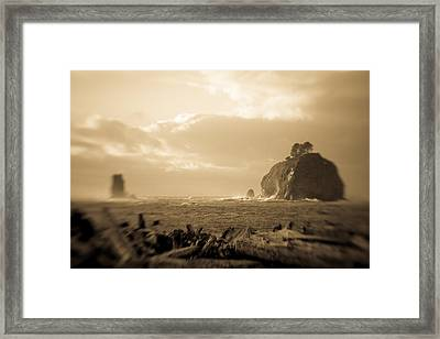 The Edge Of The World Framed Print