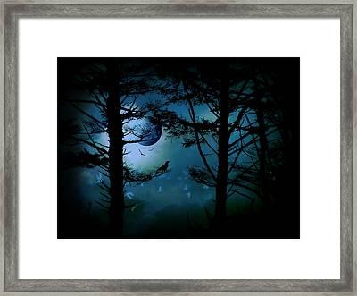 The Edge Of Twilight  Framed Print by Micki Findlay