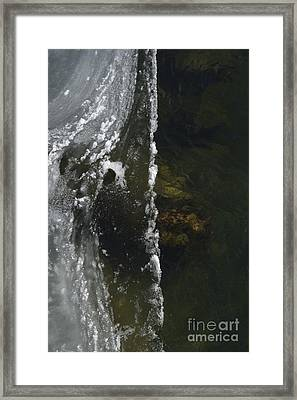 Framed Print featuring the photograph The Edge by Randy Bodkins