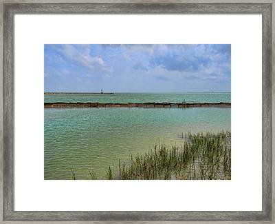The Edge Framed Print by Wendy J St Christopher