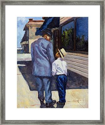 The Education Of A King Framed Print by Colin Bootman
