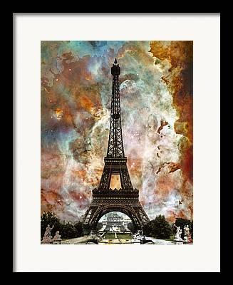 Unique View Mixed Media Framed Prints