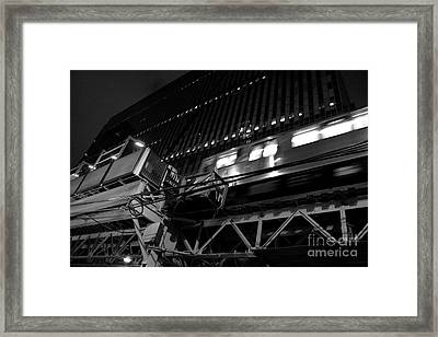 The El Framed Print by Joe Fantauzzi