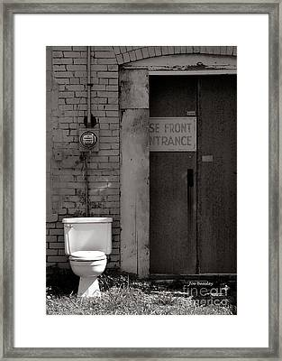 The Electric Outhouse Framed Print by   Joe Beasley
