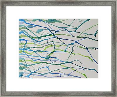The Element  Jal Framed Print by Sonali Gangane