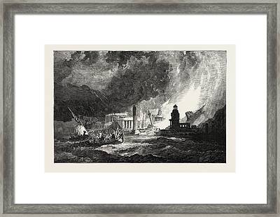 The Elements A Magnificent City Has Its Superb Temples Framed Print