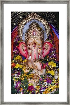 The Elephant God Framed Print