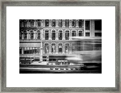 The Elevated Framed Print