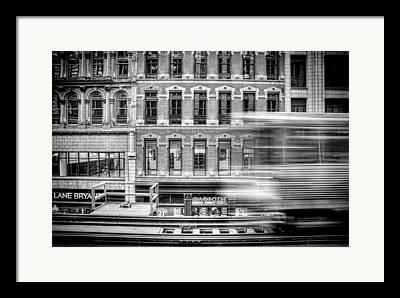 Transit Framed Prints