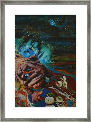 Framed Print featuring the mixed media The Eleventh Hour by Douglas Fromm