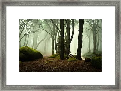 The Elf World Framed Print