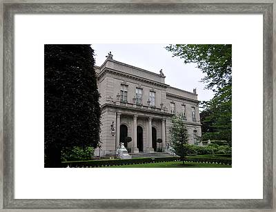 The Elms  --  Newport Rhode Island  Framed Print