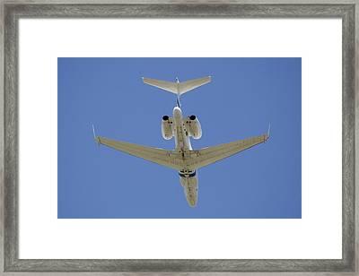 The Elusive Israeli Air Force G550 Aew Framed Print by Timm Ziegenthaler