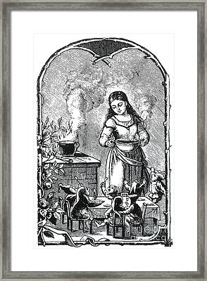 The Elves Supper, Legendary Creatures Framed Print