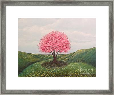 The Elysian Fields Framed Print by Aimee Mouw
