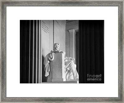 The Emancipator Framed Print by Inge Johnsson