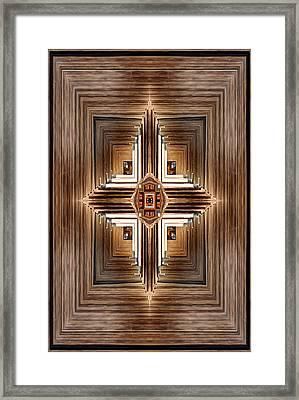 The Emblem Framed Print