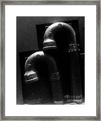 The Embrace Framed Print by James Aiken