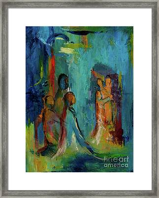 The Embrace Framed Print by Larry Martin