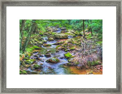 The Emerald Forest 6 Framed Print