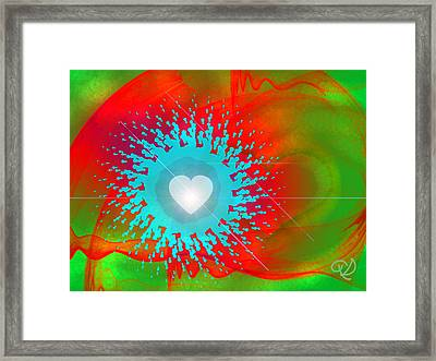 The Emergence Of Love Framed Print