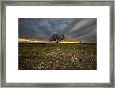 The Eminija Mounds Framed Print