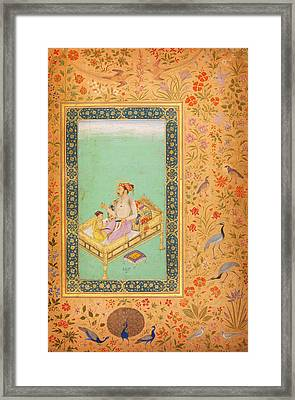 The Emperor Shah Jaha Framed Print by Celestial Images