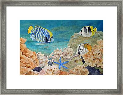 The Emperors Arrival Framed Print