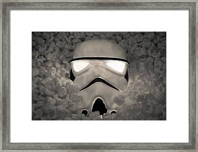 The Empire Pays Peanuts Framed Print by Randy Turnbow