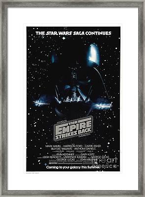 The Empire Stikes Back Framed Print
