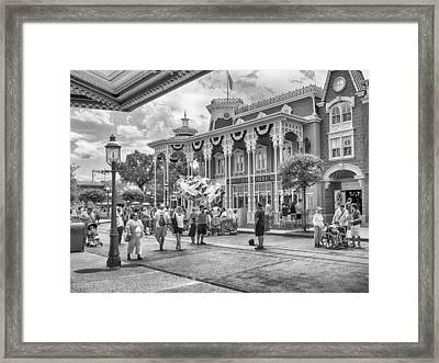 Framed Print featuring the photograph The Emporium by Howard Salmon